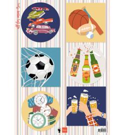 EWK1276 Knipvel A4 All for men - Beer -  Els Wezenbeek