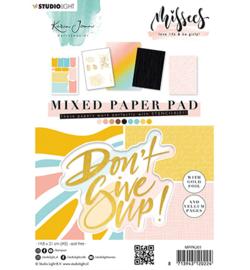 MPPKJ01 Paperpad A5  - Missees - Karin Joan - Studio Light