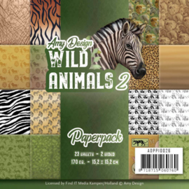 ADPP10026 Paperpad - Wild Animals - Amy Design