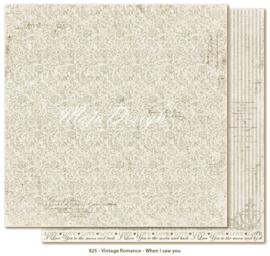 825 Scrappapier dubbelzijdig - Vintage Romance - Maja Design