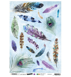 RICESJMA34 Rice Paper A4 - Jenine's Mindful Art Time to Relax - Studio Light