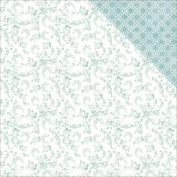P2347 Scrappapier Dubbelzijdig - Lilac Whisper - Kaisercrafts
