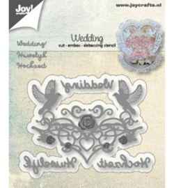 6002-1263 Snij- en embosmal - Joy Crafts