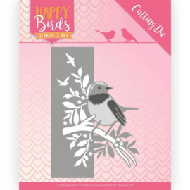 JADD10086 Snij- en embosmal - Happy Birds - Jeanine's Art
