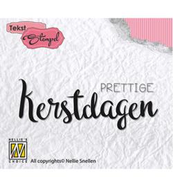 DTCS014 Clearstempel Nederlandse tekst - Nellie Snellen