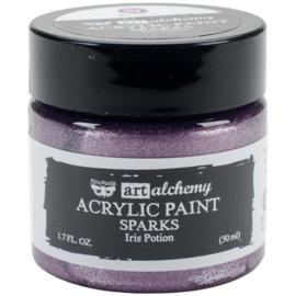 964139 Finnabair Art Alchemy - Acrylic Paint - Sparks - Iris Potion-Finnabair Art Alchemy
