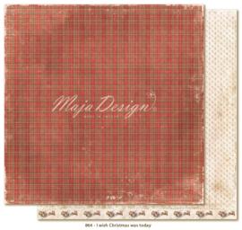 864 Scrappapier dubbelzijdig - I Wish - Maja Design
