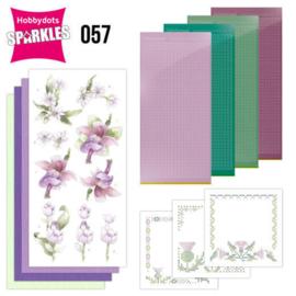 Sparkles set 057 - compleet voor 3 kaarten