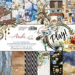 Paperpad 15x15cm - Play Paper - 12 vel dubbelzijdig - Memory Place