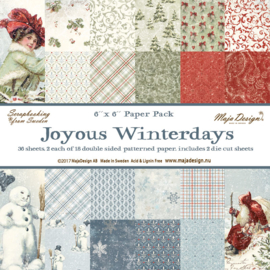 Paperpad Joyous Winterdays - Maja Design