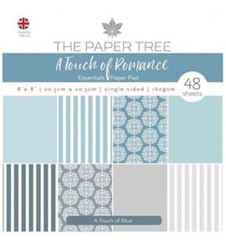 PTC1060 Paperpad 20.5 x 20.5 cm - a Touche of Romance - The Paper Boutique