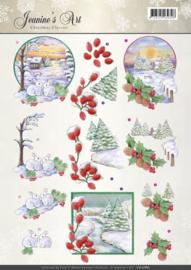 CD10885 Knipvel A4 - Christmas Classic - Jenine's Art