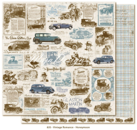 835 Scrappapier dubbelzijdig - Vintage Romance - Maja Design
