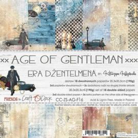 Paperpad 20,3 x 20,3 cm - Age of Gentleman - Craft O Clock