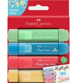 254625 Tekstmarkers Pastel  - Faber Castell