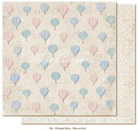 746 Scrappapier dubbelzijdig - Vintage Baby - Maja Design