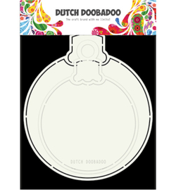 470713680 - Card Christmas ball - Dutch Doobadoo