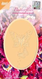 6002-0276 Snij- en embosmal - Joy Crafts