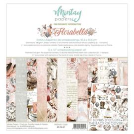 Paperpad Mintay - Florabella 30,5 x 30,5 cm - MT-FLB-07 - PAKKETPOST!!