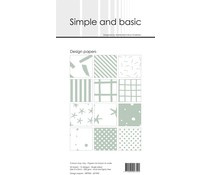 SBP905 Slim Paperpack 21x10cm - 24 stuks - Simple and Basic