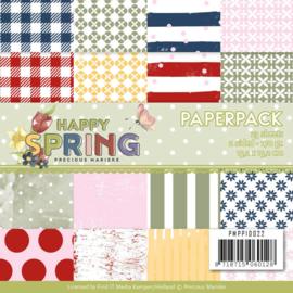 PMPP10022 Paperpad - Happy Spring - Marieke Design