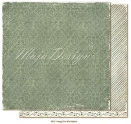 CHRS992 Scrappapier dubbelzijdig - Christmas Seasons - Maja Design