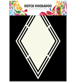470.713.150 Dutch Shape Art A5 Ruit - Dutch Doobadoo