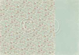 PD18006 Scrappapier dubbelzijdig - Life is Peachy - Pion Design