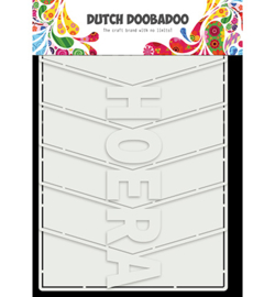 470.713.857 Card Art Album Hoera - Dutch Doobadoo