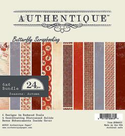 SEA023 Paperpad 15,2 x 15,2 cm - Autumn - Authentique