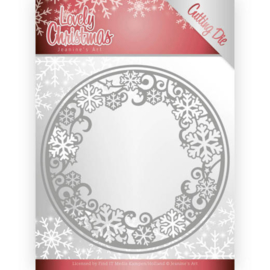 JAD10077 Snij- en embosmal - Lovely Christmas - Jeanine's Art