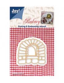 6002-0306 Snij- en embosmal - Joy Crafts