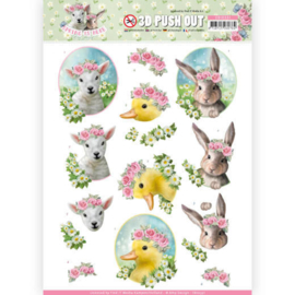 SB10331 Stansvel 3D vel A4 - Spring is Here - Amy Design