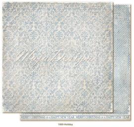 CHRS1000 Scrappapier dubbelzijdig - Christmas Seasons - Maja Design