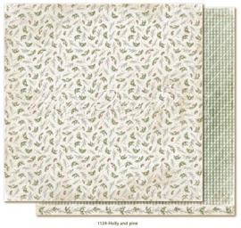 1124 Scrappapier dubbelzijdig - Traditonal Christmas - Maja Design