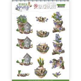 SB10435 Stansvel 3D vel A4 - Botanical Spring - Amy Design