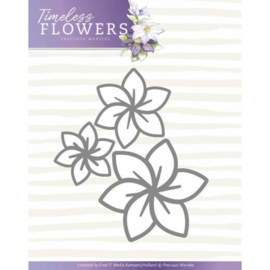 PM10123 Snij- en embosmal - Timeless Flowers - Marieke Design