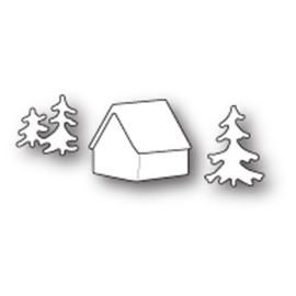 99607 Snij- embosmal - Memorybox