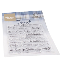 CS1056 Clearstempel Proost  - Marianne Design