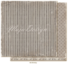 963 Scrappapier dubbelzijdig - Celebration - Maja Design