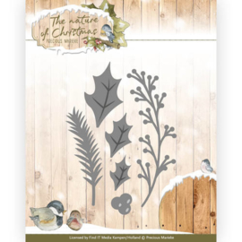 PM10103 Snij- en embosmal - The Nature Christmas - Marieke Design