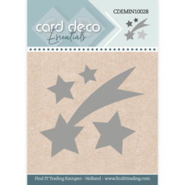 CDEMIN10028 Falling Star - Card Deco