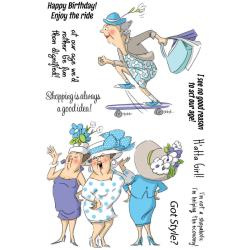 SC0678 Got Style - Clear Stamp - Art Impression