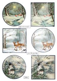 JDN025 Vintage vel A4 Natuur - Jellie Design