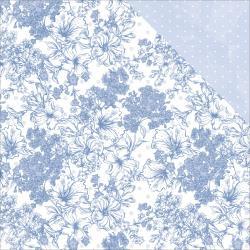 P2346 Scrappapier Dubbelzijdig - Lilac Whisper - Kaisercrafts