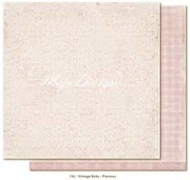 742 Scrappapier dubbelzijdig - Vintage Baby - Maja Design