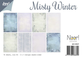 6011/0527 Paperbloc A4 a 12 vel - Misty Christmas - Joy Crafts