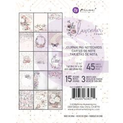 634315 Journaling Note Cards 7.62 x 10.16cm - Lavender - Prima Marketing