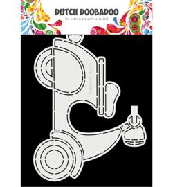470.713.873 - Card Art Scooter - Dutch Doobadoo