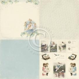 PD4102 Scrappapier - Sweet Baby - Pion